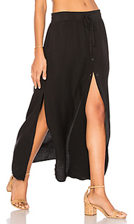 Button front maxi skirt - Bella Dahl