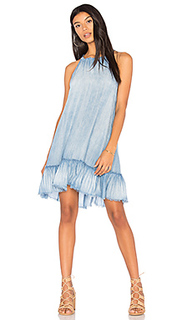 Ruffle halter dress - Bella Dahl