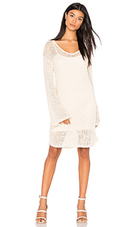 Open weave bell sleeve dress - Callahan