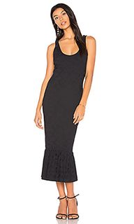 Embossed jacquard midi dress - twenty