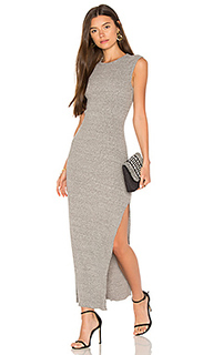 Rib muscle tank dress - Enza Costa