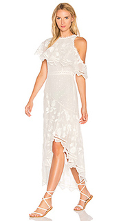 Mercer bird floating dress - Zimmermann