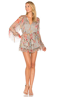 Mercer floating romper - Zimmermann