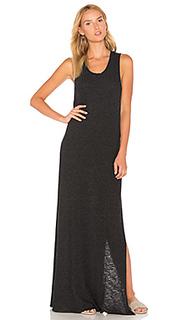 Платье-макси с перекрестными шлейками сзади - Lanston
