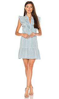 Платье с окантовкой - BCBGMAXAZRIA