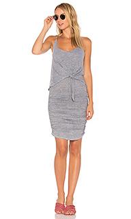 Платье с завязкой спереди - Lanston
