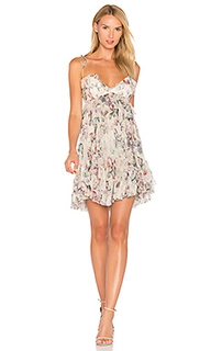 Платье в цветочек jasper - Zimmermann