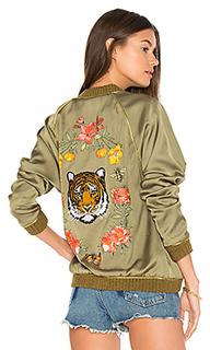Куртка бомбер garden tiger - Lauren Moshi