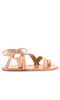 Scallop tie sandal - Zimmermann