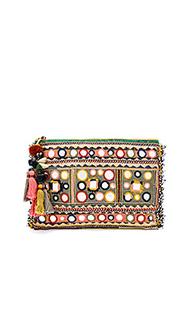 Клатч с вышивкой lipika - Star Mela
