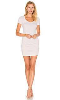 Платье-футболка с рюшами - Michael Stars