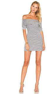 Платье со спущенными плечами addison - De Lacy