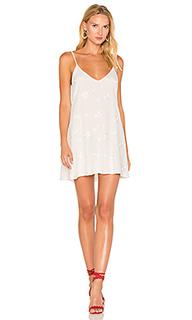 Платье с вышивкой pearl - De Lacy