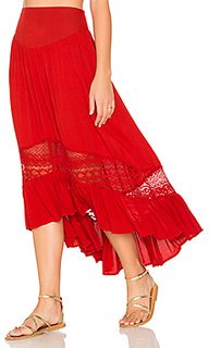 Ruffle hem skirt - Band of Gypsies