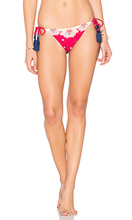 Setting sun tie side cheeky bikini bottom - MINKPINK