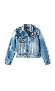 Джинсовая куртка rock on trash - Bardot Junior
