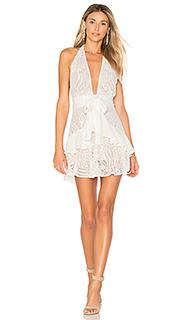 Платье холтер lily - For Love & Lemons