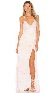 Макси платье с запахом lorelai - Young Fabulous & Broke