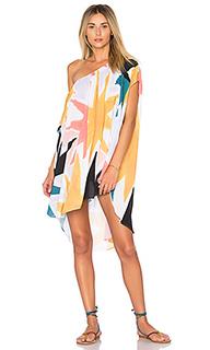 Платье с открытыми плечами - Mara Hoffman