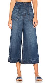 Укороченные расклёшенные джинсы dawn to duck - Free People