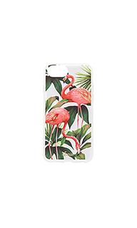 Чехол для iphone 7 flamingo garden - Sonix