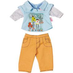 Одежда стильная для мальчика, оранжевые штаны, BABY born Zapf Creation