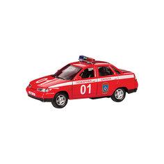 """Машинка """"Lada 110"""" пожарная охрана 1:36, Autotime"""