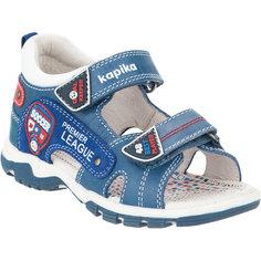Туфли для мальчика KAPIKA, синий