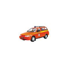 """Машинка """"Lada 111"""" техпомощь 1:36, Autotime"""