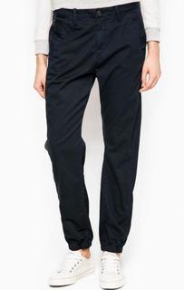 Зауженные синие брюки из хлопка G Star RAW