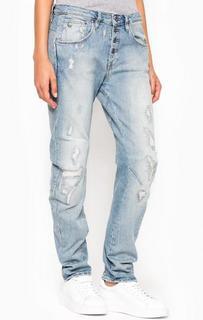 Рваные джинсы-бойфренд G Star RAW