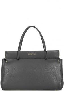 Кожаная сумка со съемным плечевым ремнем Gironacci