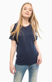Синяя футболка из вискозы Mavi