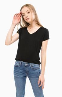 Базовая футболка с треугольным вырезом Mavi