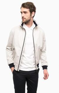 Серая куртка на молнии с карманами Lion OF Porches