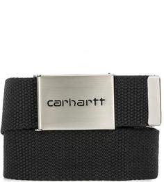 Текстильный ремень черного цвета Carhartt WIP