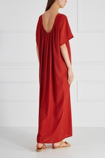 Однотонное платье Cyrille Gassiline