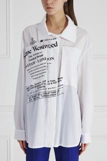 Хлопковая блузка Vivienne Westwood Anglomania