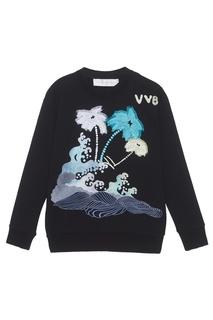 Хлопковый свитшот Victoria, Victoria Beckham