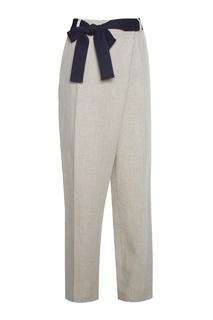 Льняные брюки Victoria Beckham