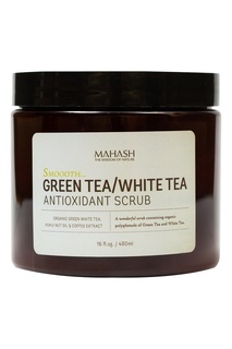 Скраб для тела Smooth Green Tea/White Tea 480 ml Mahash
