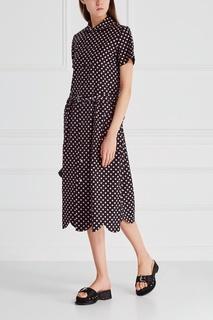 Хлопковое платье-рубашка Comme des Garcons Girl