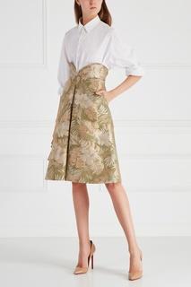Жаккардовая юбка Chapurin
