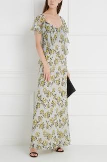 Шелковое платье Chapurin