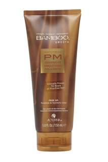 Полирующий шампунь для волос Alterna Bamboo Smooth Anti-Frizz PM Overnight Smoothing Treatment 150ml