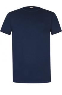 Хлопковая футболка с круглым вырезом Caruso