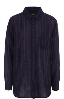 Блуза свободного кроя с принтом Rails