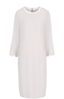 Платье прямого кроя с укороченным рукавом HUGO