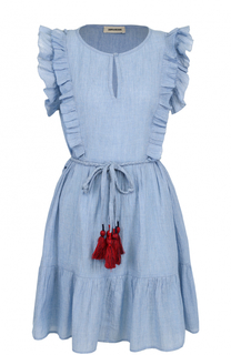 Мини-платье с поясом и оборками Zadig&Voltaire Zadig&Voltaire