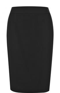 Юбка-миди с разрезом HUGO